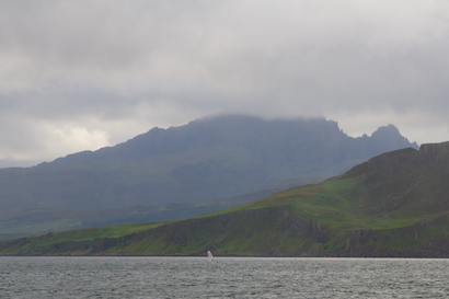 Cruising beneath the Cuillins Isle of Skye